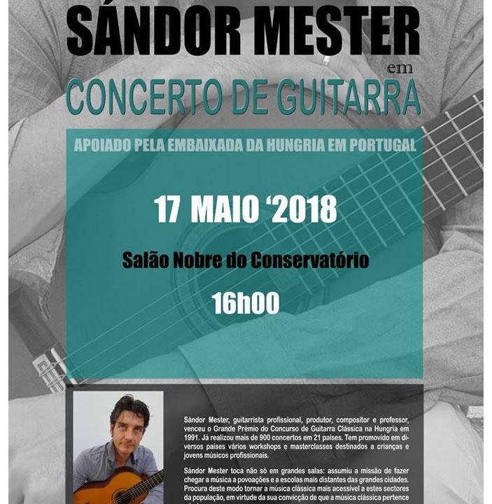 Concerto de Guitarra com Sándor Mester
