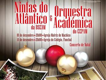 Ninfas do Atlântico e Orquestra Académica