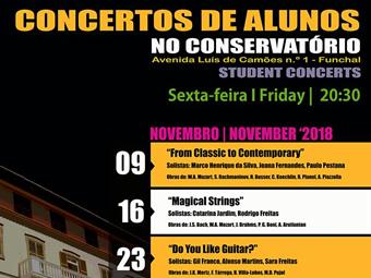 Concertos de alunos