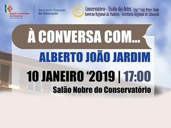 À conversa com… Alberto João Jardim